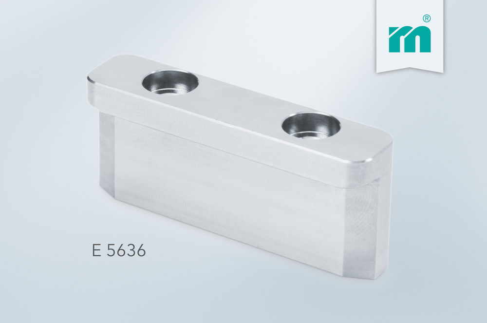 E 5636 Strip guiding rail in lengths 60 and 100 mm
